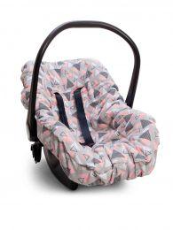 Capa De Bebê Conforto Madri Rosa