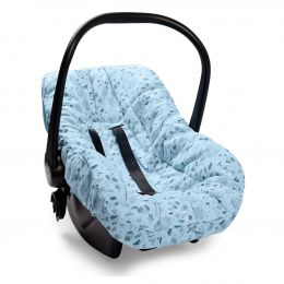 Capa De Bebê Conforto Névoa Azul