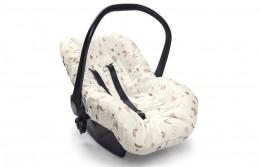 Capa De Bebê Conforto Siga o Arco Íris