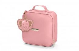 Frasqueira térmica maternidade Hug necessaire linha Cassis rosa