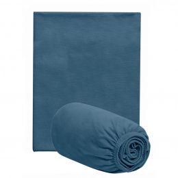 Jogo De Lençol Berço Azul Netuno