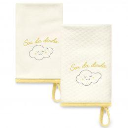 Kit Com 2 Babinhas Amarelo Acessórios 08