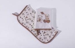 Kit Com 2 Babinhas Melhores Amigos