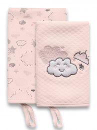 Kit Com 2 Babinhas Névoa Rosa