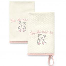 Kit Com 2 Babinhas Rosa Acessórios  03