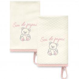 Kit Com 2 Babinhas Rosa Acessórios 04