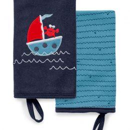 Kit Com 2 Babinhas Tesouros Do Mar Azul