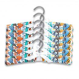 Kit Com 6 Cabides Happy Zoo