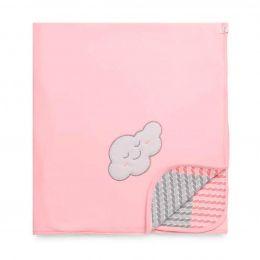 Manta De Soft Pedacinho Do Céu Rosa