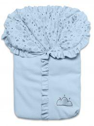 Porta Bebê Névoa Azul