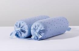 Rolinho Segura Bebê Brilha Brilha Estrelinha Azul