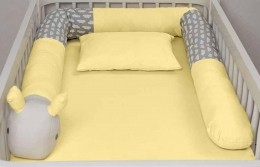 Rolo Caracol Acessórios Amarelo
