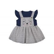 Vestido mg Curta - Azul Marinho