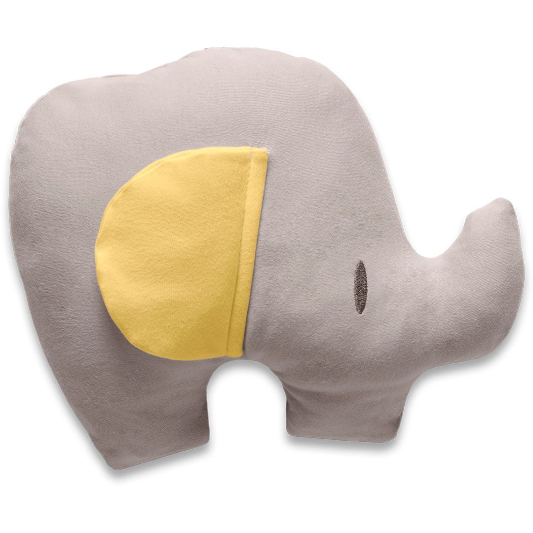 Almofada Elefante Festa Dos Bichos Amarelo