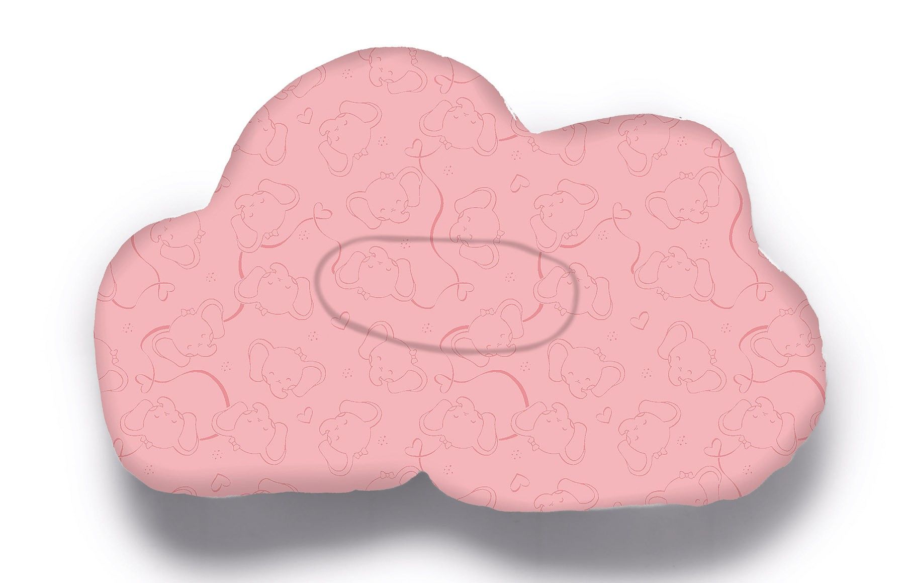 Almofada Nuvem Acessorios - Rosa