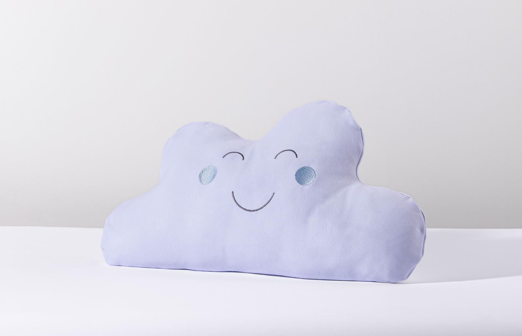 Almofada Nuvem Névoa Azul
