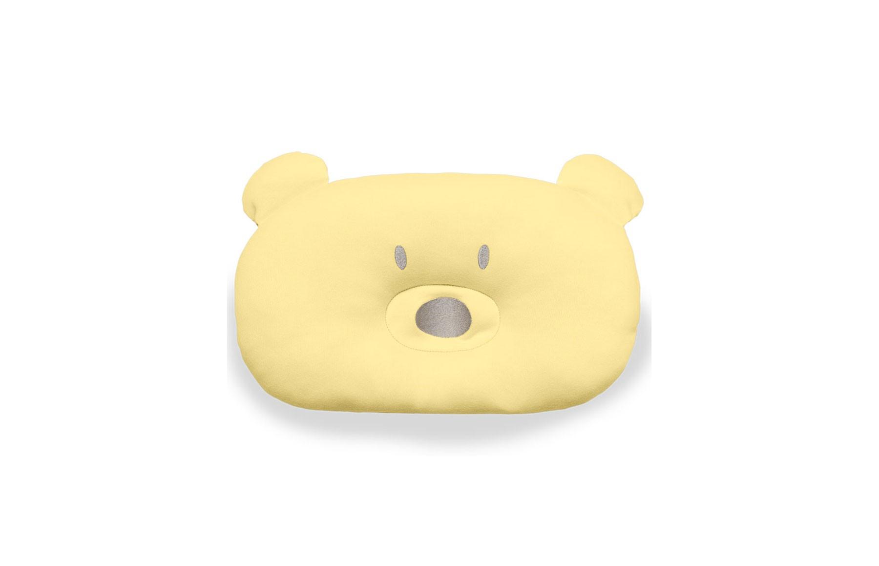 Almofada Urso Acessórios Amarelo