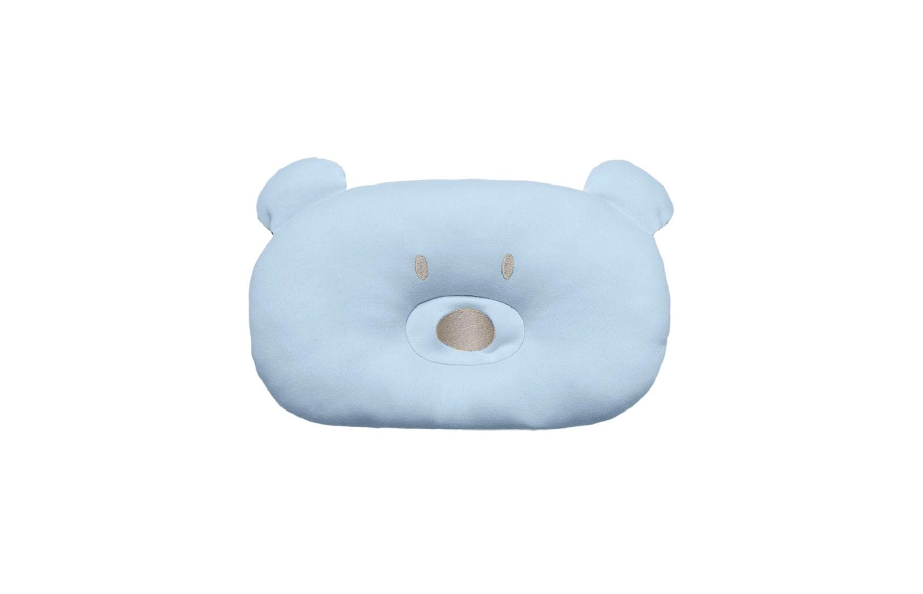 Almofada Urso Acessórios Azul