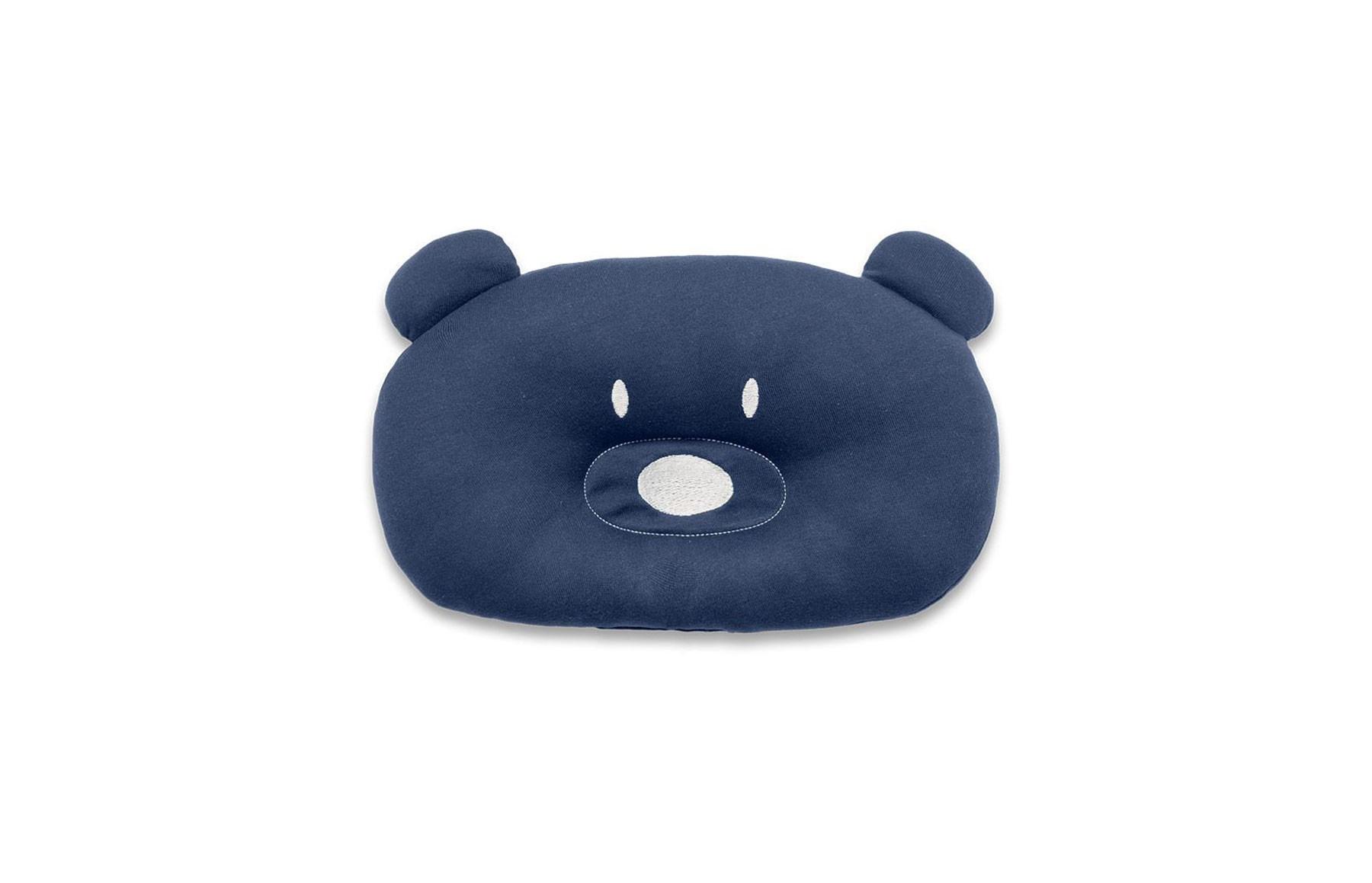 Almofada Urso Acessorios Azul Marinho