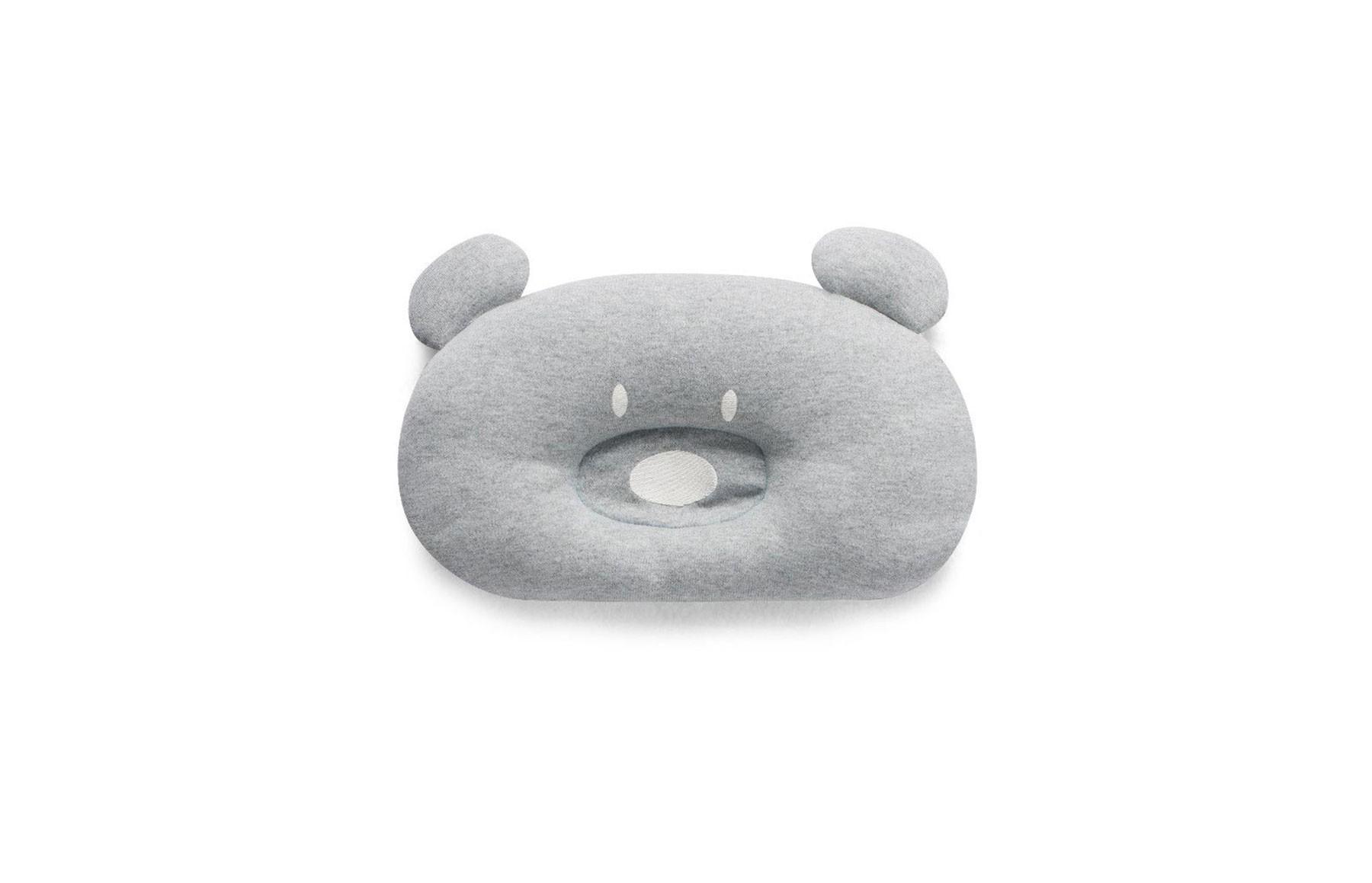 Almofada Urso Acessórios Cinza