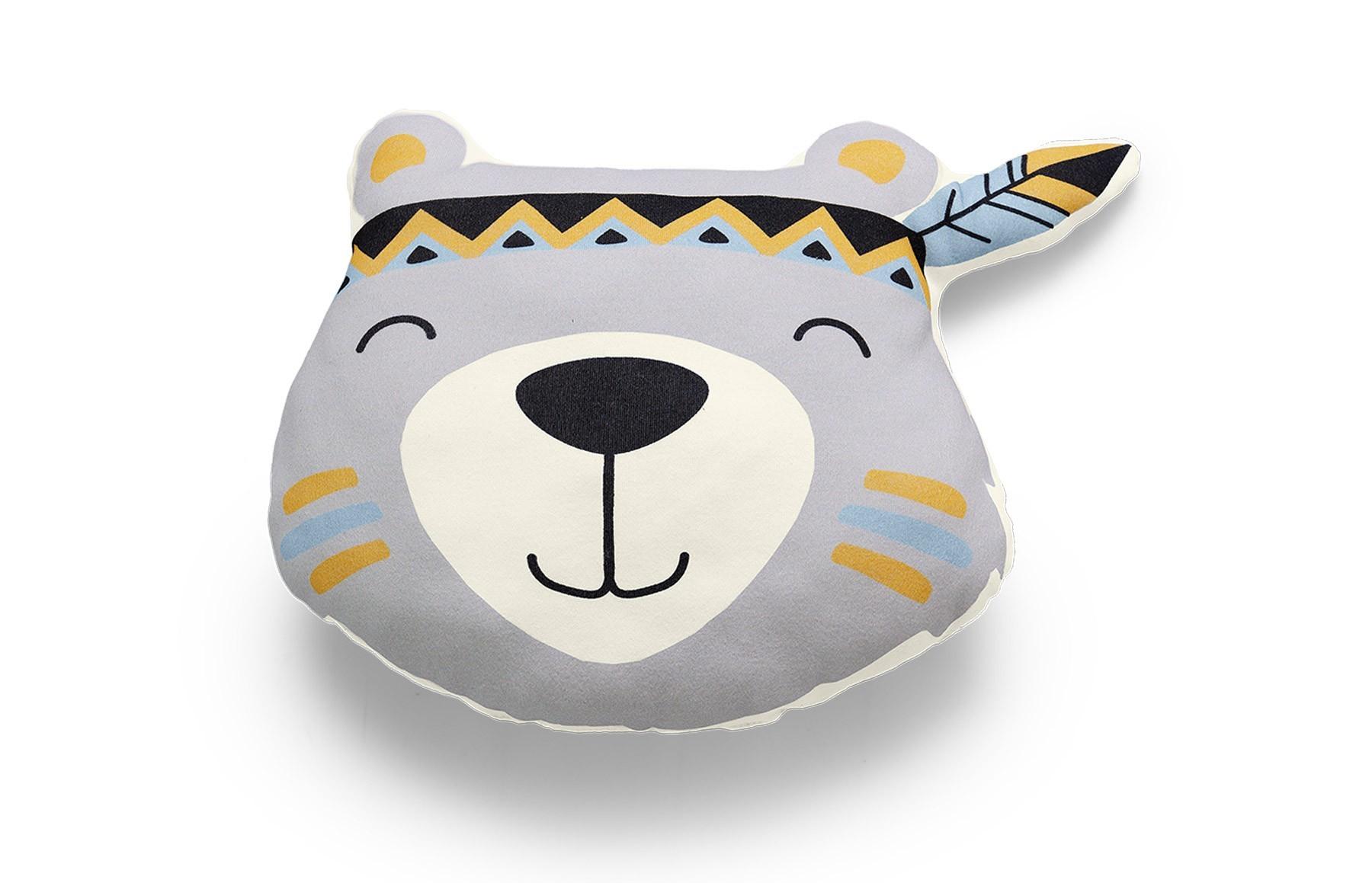 Almofada Urso Bosque Branco