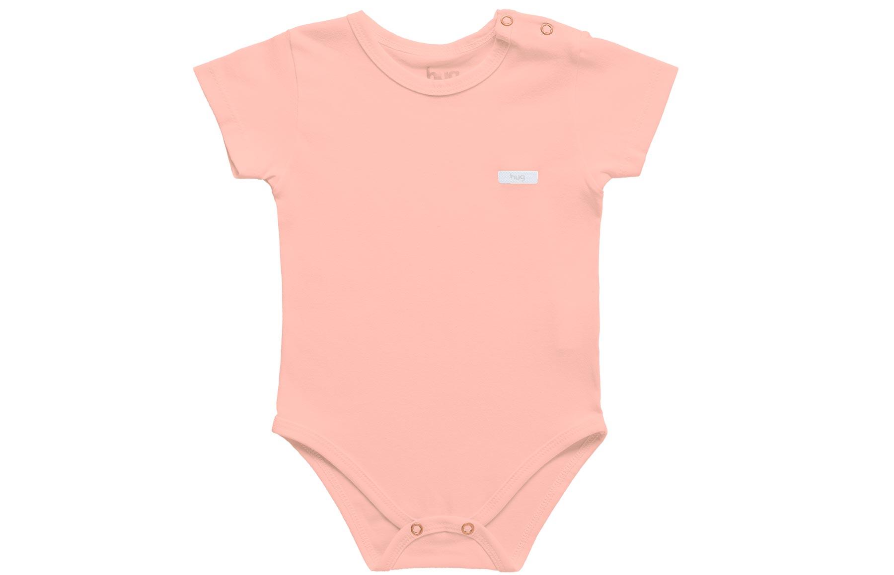 Body Curto Essencial - Rosa