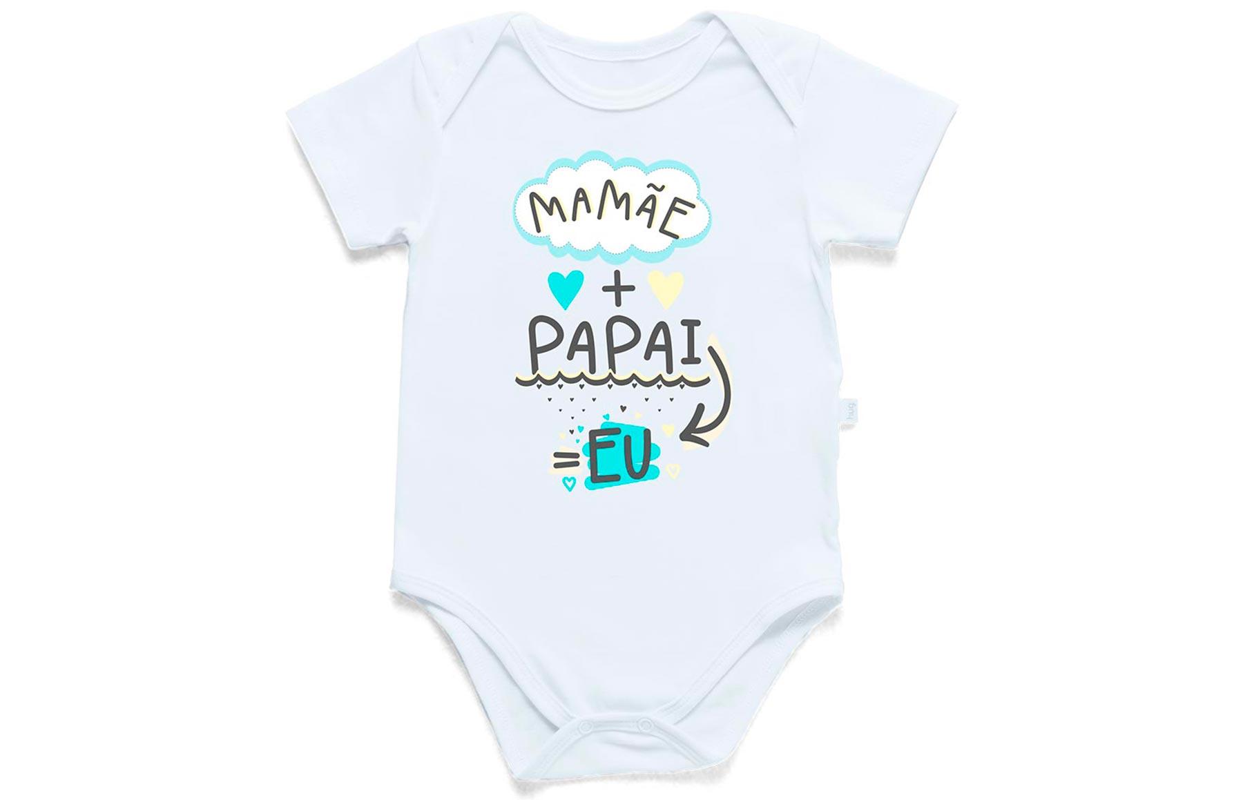 Body Divertido - Mamãe + Papai