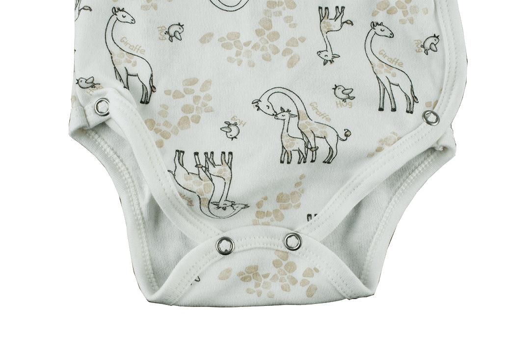 Body Kimono Manga Longa - Girafas