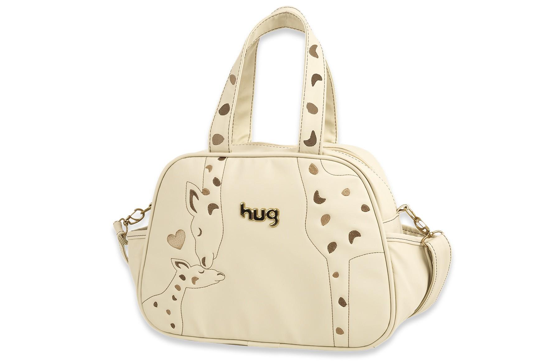 Bolsa Maternidade Grande - Linha Amor de Mãe Hug - Bege