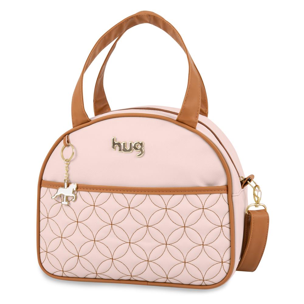 Bolsa Maternidade Charme Média Rosa - Hug