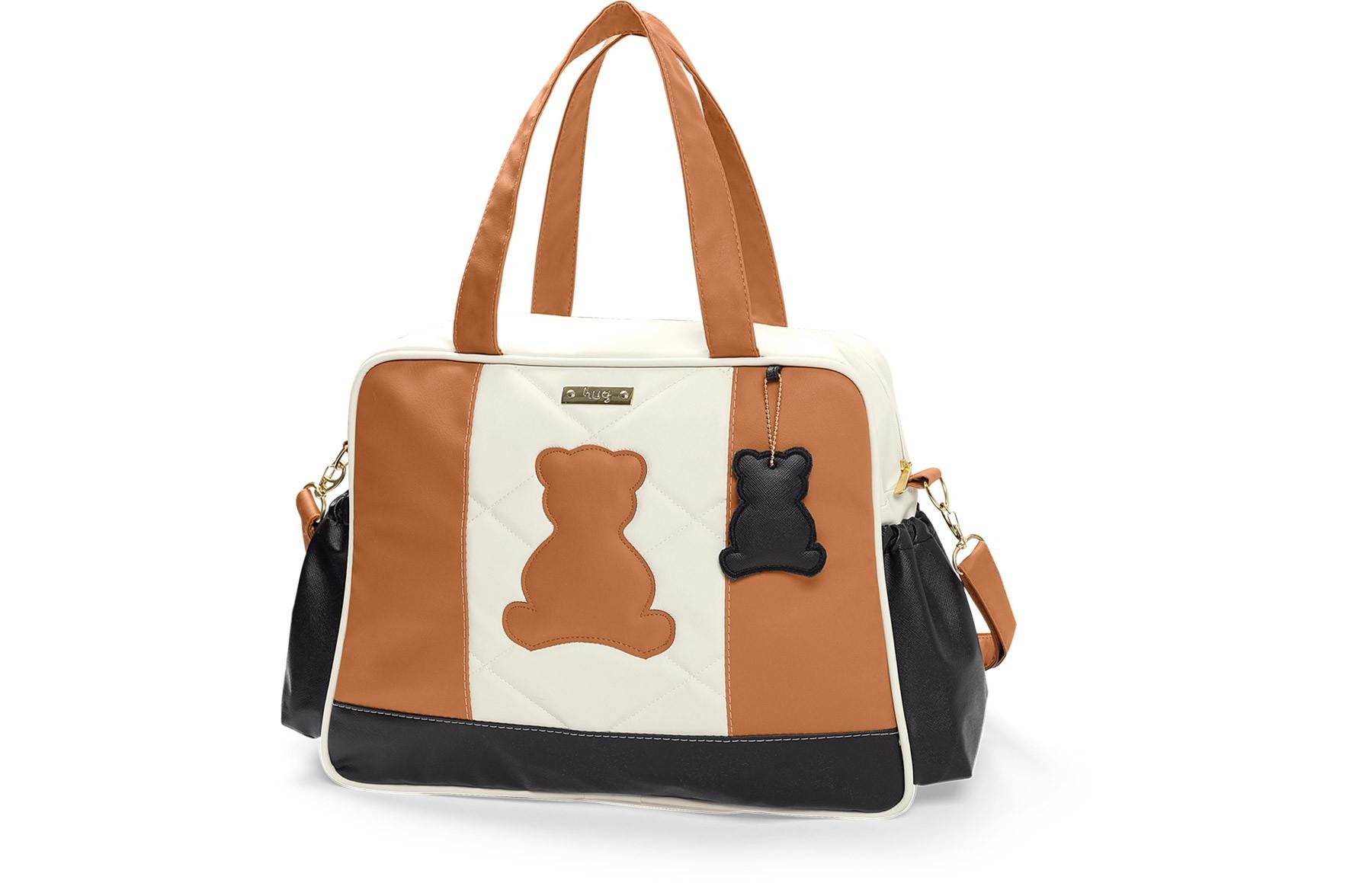 Bolsa maternidade grande Hug linha Austin caramelo