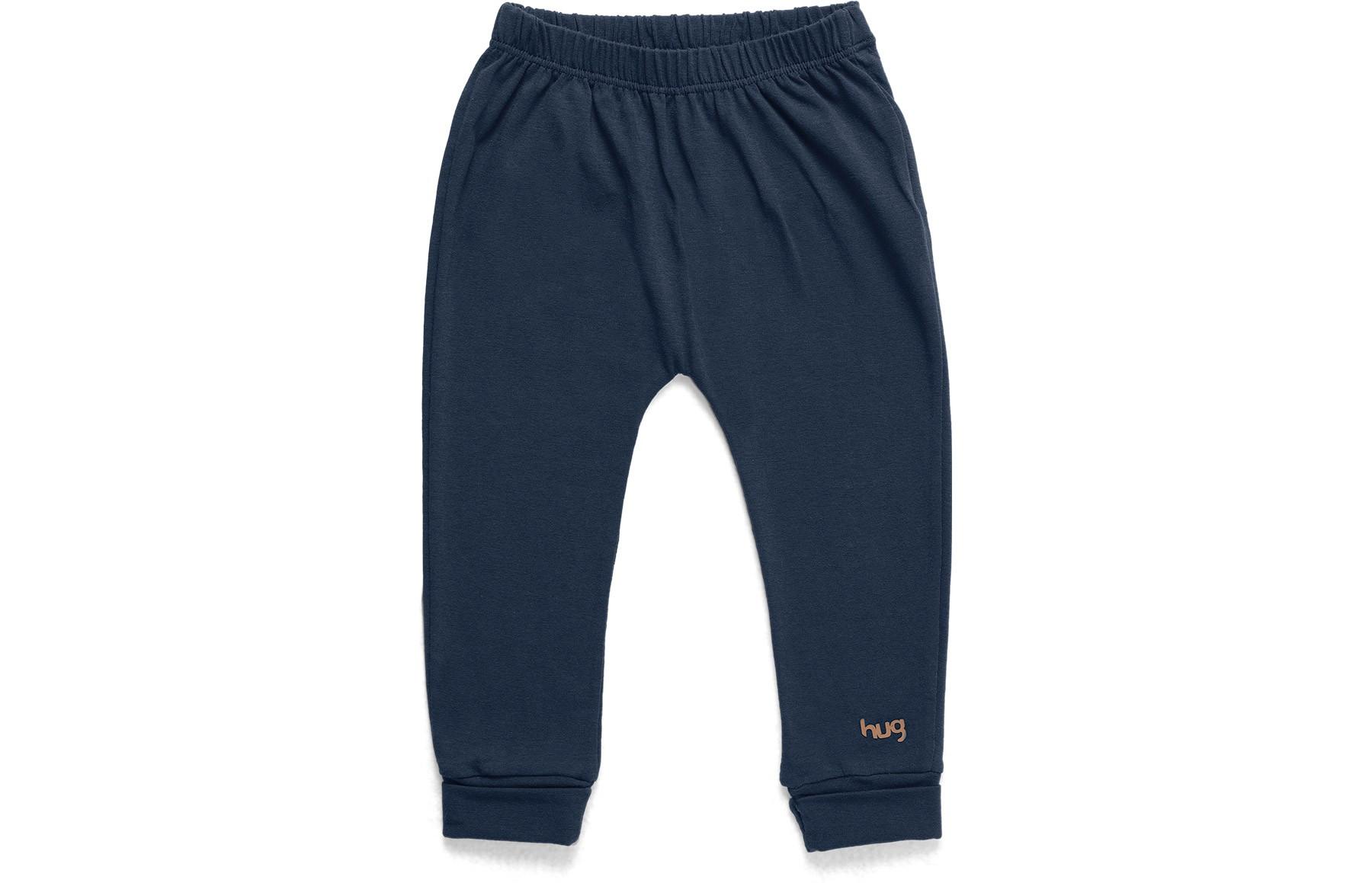 Calça Confort Essencial - Azul Marinho