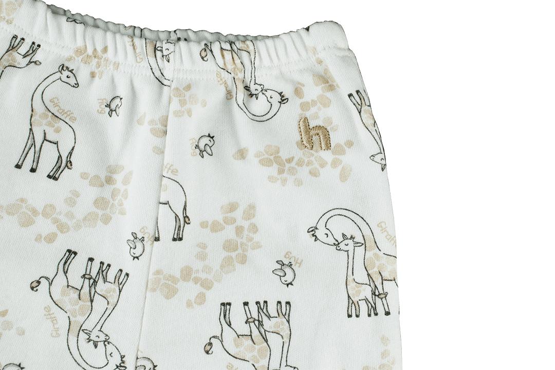 Calça Culote Estampado - Girafas