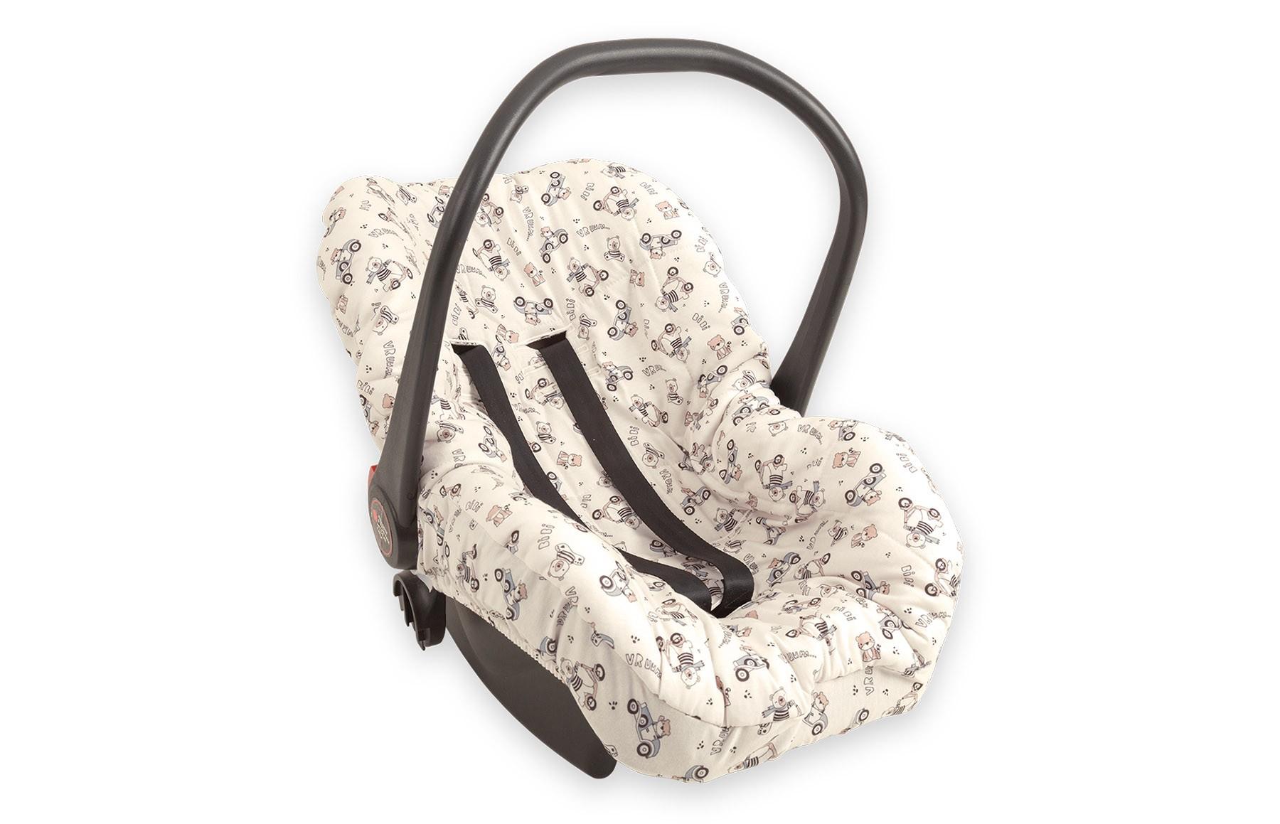 Capa de Bebê Conforto - Linha Dirigindo Pela Cidade Hug