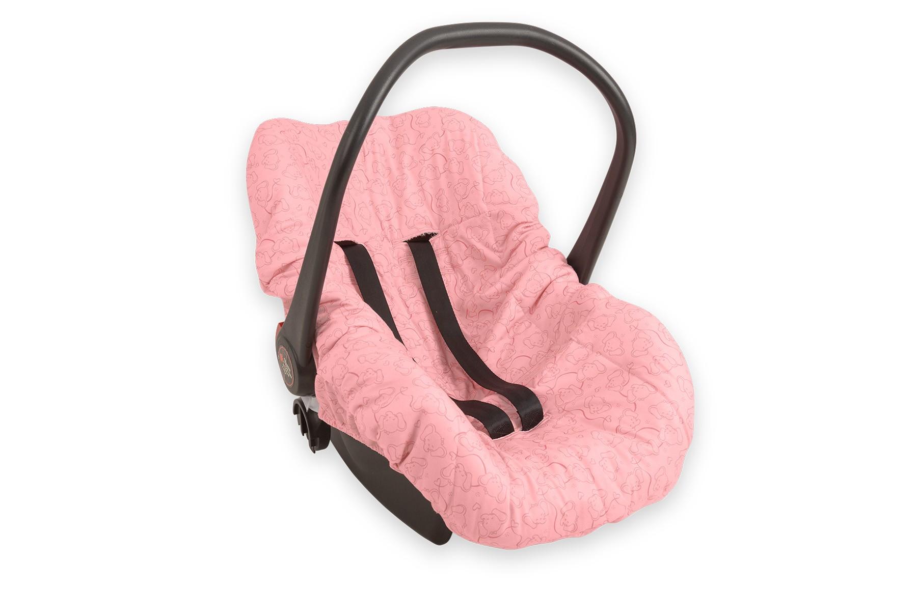 Capa de Bebe Conforto - Linha Elefante Bailarina Hug