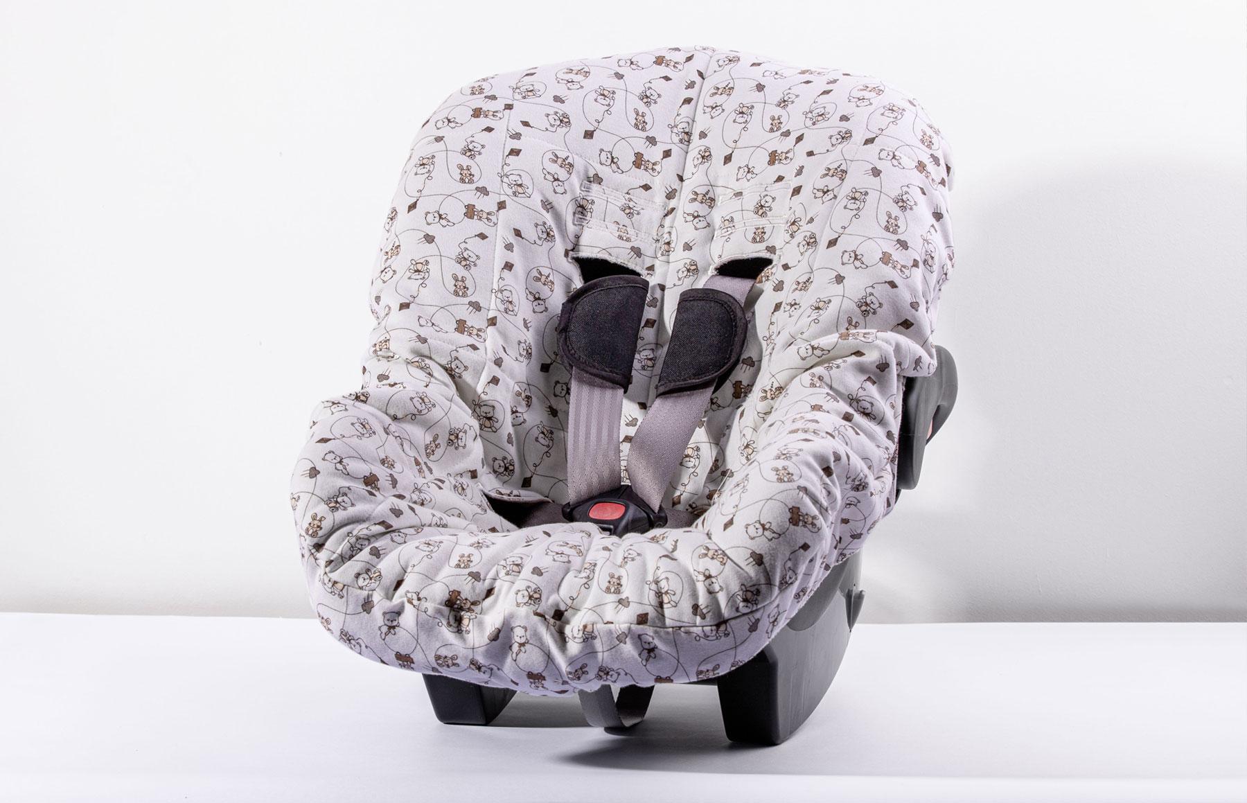 Capa De Bebê Conforto Melhores Amigos
