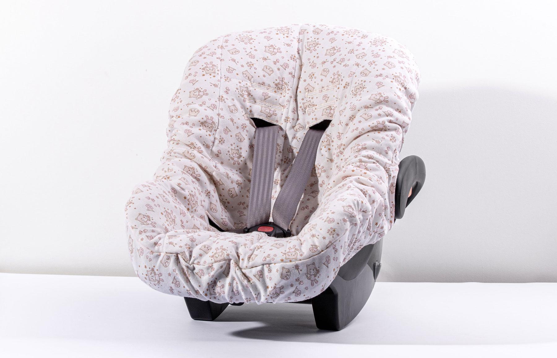Capa De Bebê Conforto Mundo De Fantasia