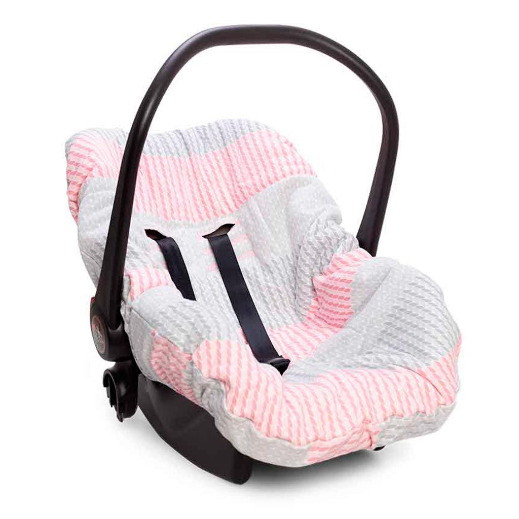 Capa De Bebê Conforto Pedacinho Do Céu Rosa