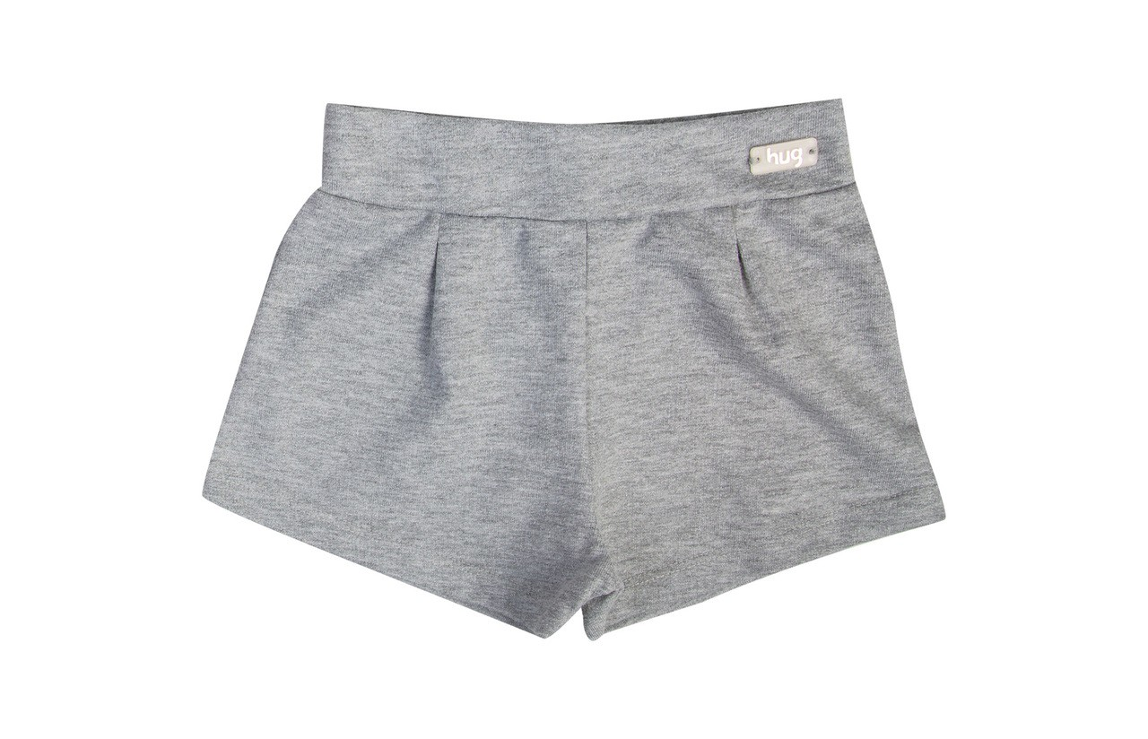 Conjunto Body Manga Curta + Shorts - Coral
