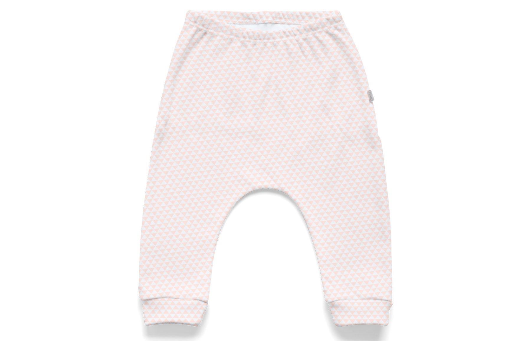 Kit Body Longo + Calça + Bandana - Lembrança de Infância Rosa