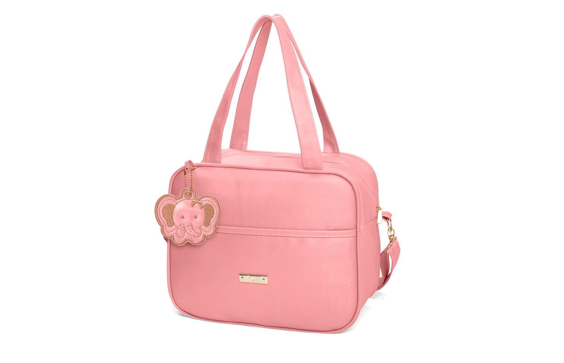 kIT bolsas 5 peças linha Cassis cor rosa + 1 NANINHA GRÁTIS