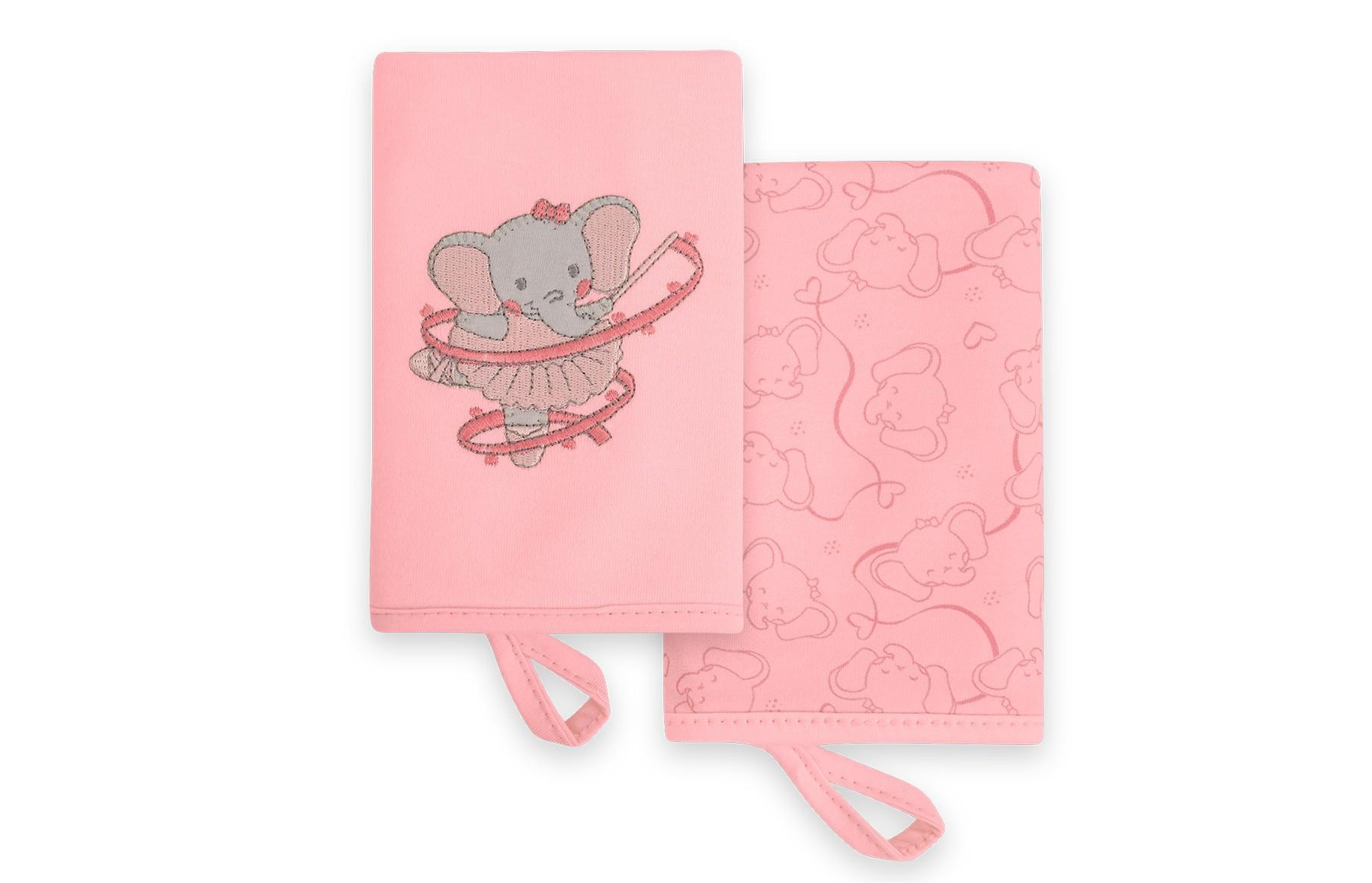 Kit Com 2 Babinhas - Linha Elefante Bailarina Hug