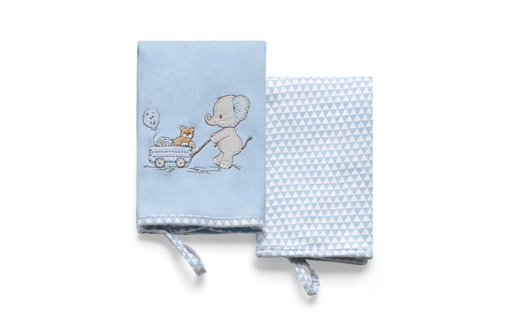 Kit Com 2 Babinhas Lembranças De Infância Azul
