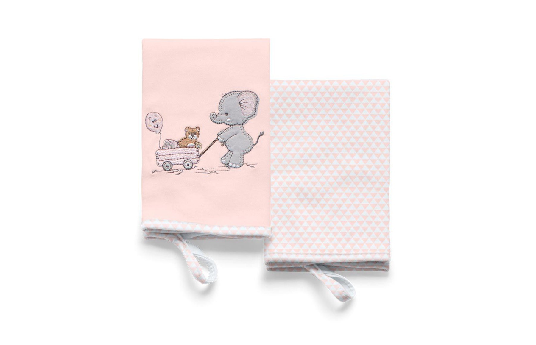 Kit Com 2 Babinhas Lembranças De Infância Rosa