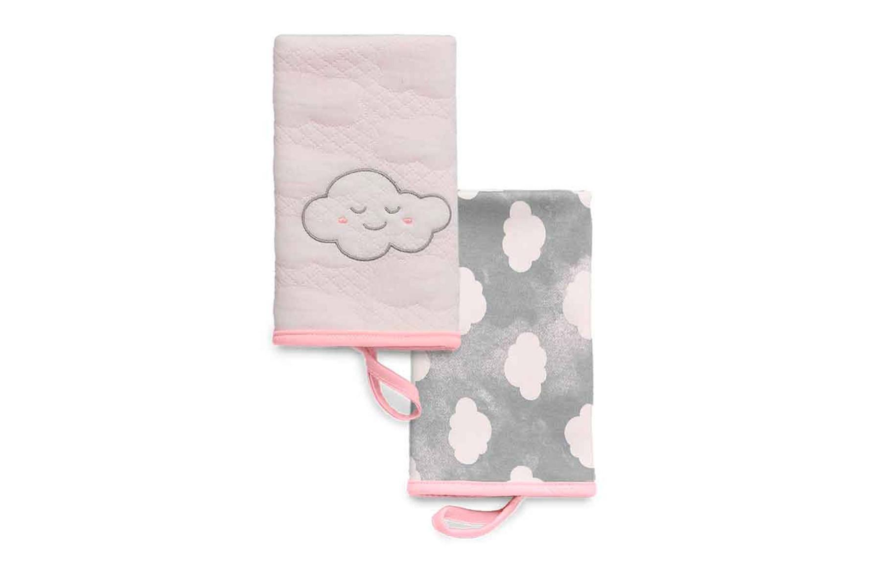 Kit Com 2 Babinhas Pedacinho Do Céu Rosa