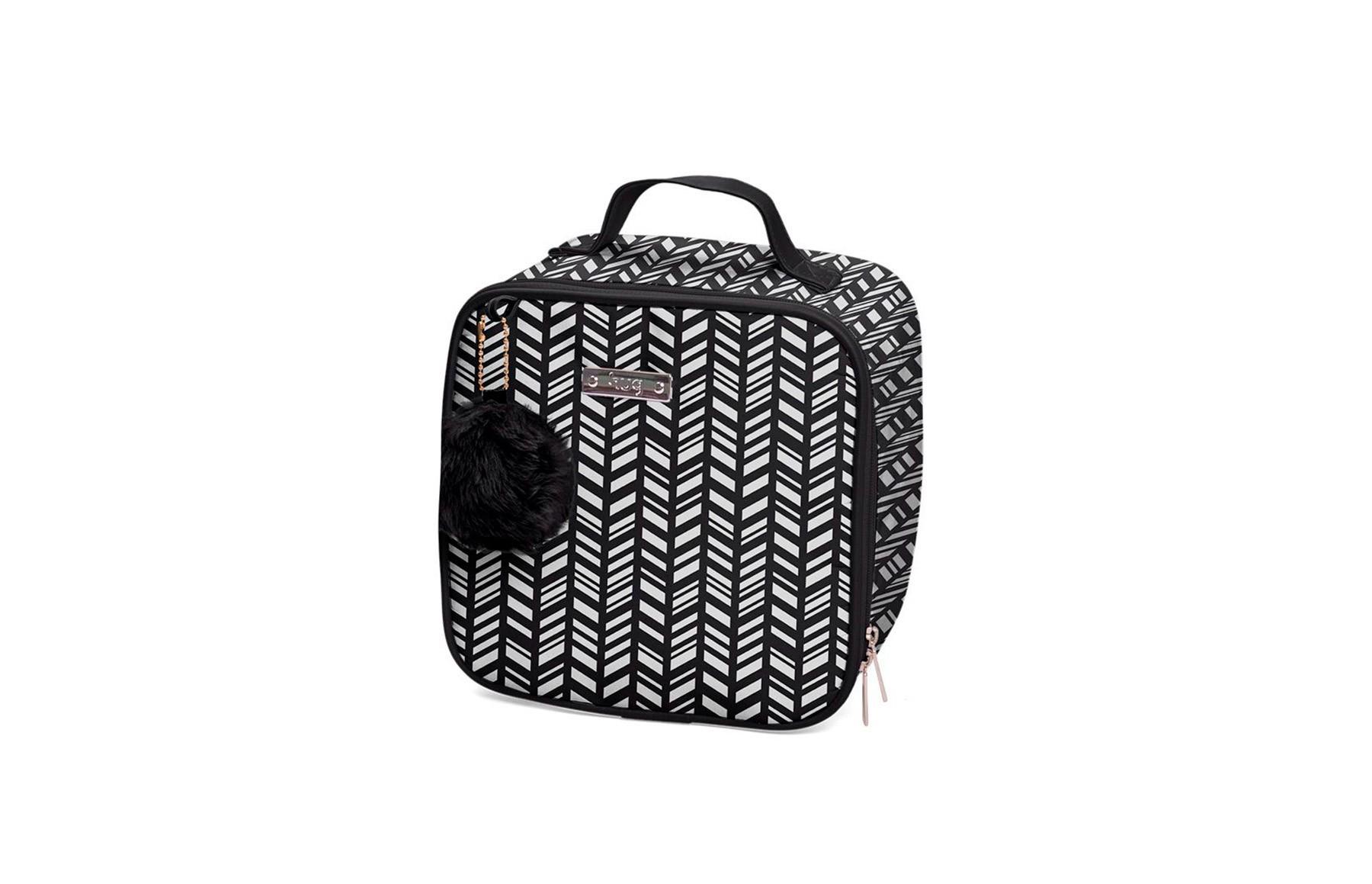 Kit de bolsas 2 peças linha Marrocos cor preta