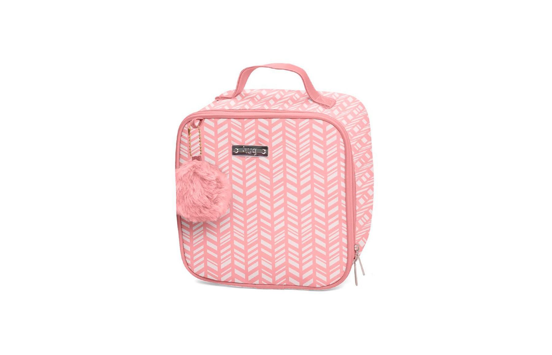 Kit de bolsas 2 peças linha Marrocos cor rosa