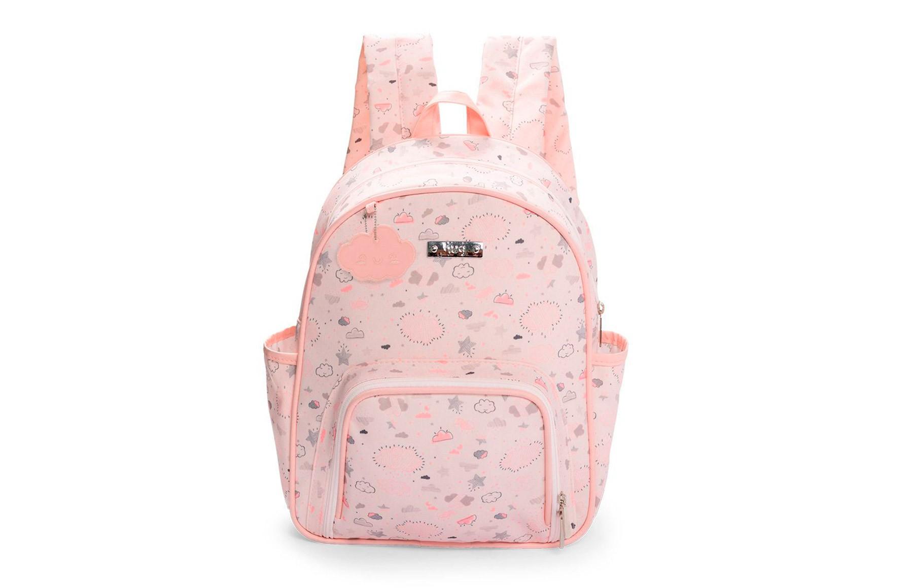 Kit de bolsas 2 peças linha Névoa cor rosa