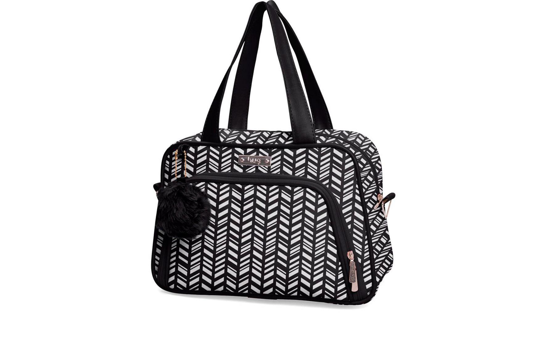 Kit de bolsas 6 peças linha Marrocos cor preta + 1 NANINHA GRÁTIS