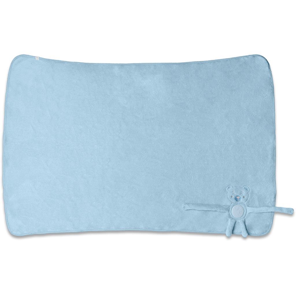 Manta Fleece Acessório Azul